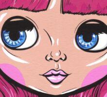 Pink Blythe Doll Sticker