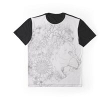 Mane of flowers Graphic T-Shirt