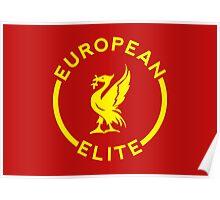 European Elite - Liverpool FC - Yellow Poster