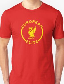 European Elite - Liverpool FC - Yellow Unisex T-Shirt