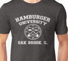 Hamburger University in White Unisex T-Shirt