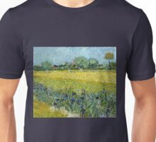 Vincent van Gogh Field of Flowers near Arles Unisex T-Shirt