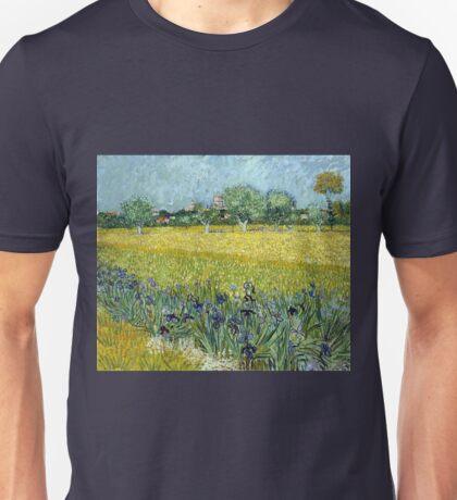 Vincent van Gogh Field of Flowers near Arles Unisex T-Shirt