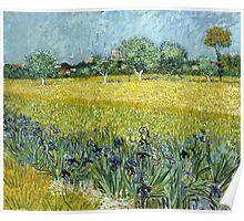 Vincent van Gogh Field of Flowers near Arles Poster