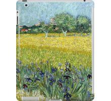 Vincent van Gogh Field of Flowers near Arles iPad Case/Skin