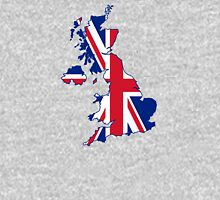 Flag Map of the United Kingdom  Unisex T-Shirt