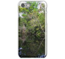 Mirror Image Tree on river iPhone Case/Skin