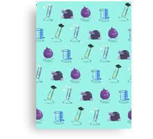 Chemistry Lab Equipment Repeating  Canvas Print