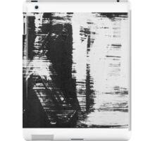 graffiti - black and white iPad Case/Skin