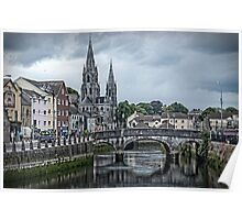Saint Fin Barre's Cathedral In Cork Ireland Poster