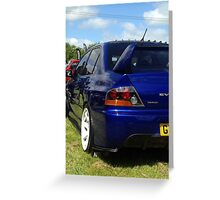 JDM Cars - Evo Japfest 2015 Greeting Card