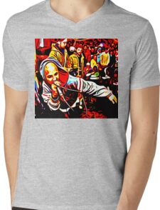 FREESTYLE FLOWS Mens V-Neck T-Shirt