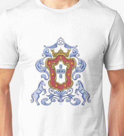 Portuguese Crest Unisex T-Shirt