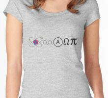 Follow the Yellow Planck Road Women's Fitted Scoop T-Shirt