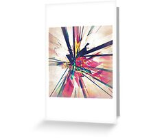 Abstract Geometry Greeting Card