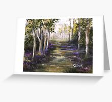 """""""The Ancient Path"""" Greeting Card"""