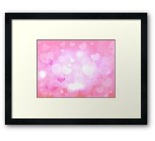 Valentines day.  Framed Print