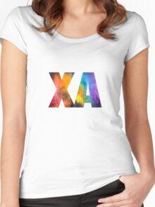 X Ambassadors Powder Paint Women's Fitted Scoop T-Shirt