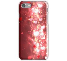 Abstract Glow Soft Hearts iPhone Case/Skin