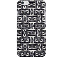 Abstract geometric pattern iPhone Case/Skin