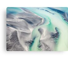 Roebuck Bay Aerial Canvas Print