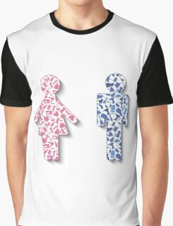 Different hobby man amd woman Graphic T-Shirt