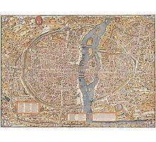 Original Paris: Around the world.. Wanderlust! Photographic Print