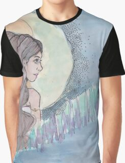 Sky Woman Graphic T-Shirt