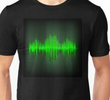Abstract waveform music equalizer Unisex T-Shirt