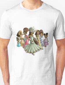 7 Princesses Unisex T-Shirt