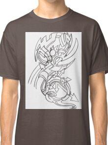 Biomech Graffiti  Classic T-Shirt