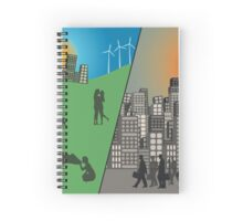 Which future will you choose? Spiral Notebook