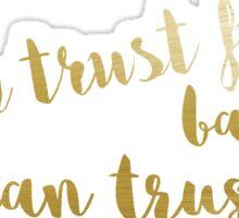 Trust Fund Baby Sticker
