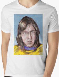 Charlie George Mens V-Neck T-Shirt