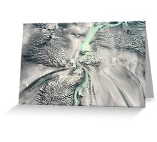 Silken Seabed Greeting Card