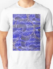 Black and Blue abstraction, pattern T-Shirt