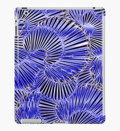 Black and Blue abstraction, pattern iPad Case/Skin