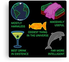 Mostly Harmless, Massively Useful Canvas Print