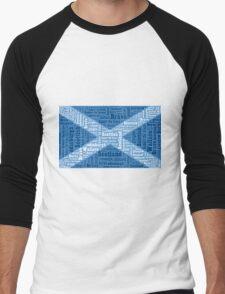 The Saltire Men's Baseball ¾ T-Shirt
