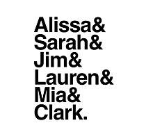The List Photographic Print