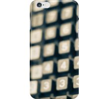 adding machine keypad iPhone Case/Skin