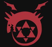 Fullmetal Alchemist - Ouroboros Homunculus Tattoo by Andaimaru