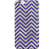Gold And Blue Geometric Pattern iPhone Case/Skin