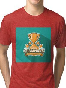 League Champions insignia Tri-blend T-Shirt