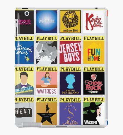 Playbill Collage iPad Case/Skin