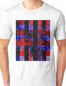 Checkered Sapce Unisex T-Shirt