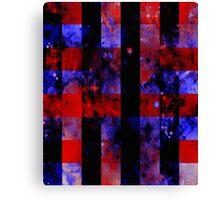 Checkered Sapce Canvas Print