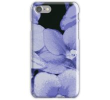 Violets are Blue iPhone Case/Skin