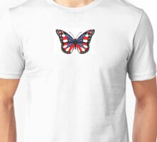 Patriot Butterfly Unisex T-Shirt