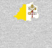 Flag Map of Vatican City Unisex T-Shirt